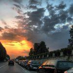 Tramonto a Belgioioso - Pavia