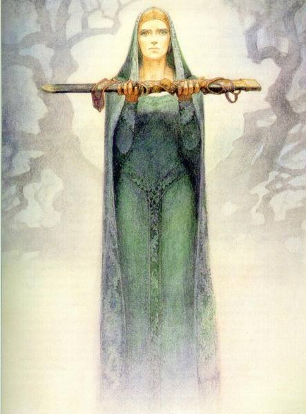 fantasy dama del lago